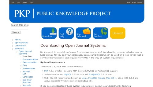 Download OJS - PKP