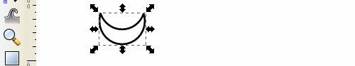Tarsius SLiMS - Deferencing 2 Lingkaran untuk Membentuk Mulut