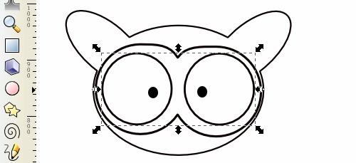 Tarsius SLiMS - Draging - Grouping Objek Mata dengan Kepala