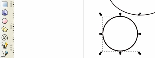 Tarsius SLiMS - Membuat Lingkaran Mata Luar