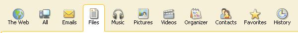 Copernice Desktop Search - Mengenal Bagian Icon