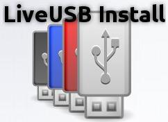 Live USB Install - Splash Scren